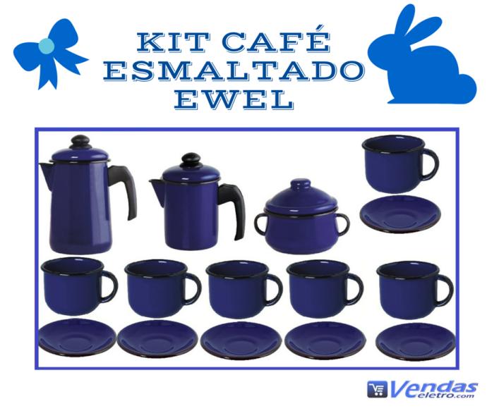 Kit Café Esmaltado Ewel